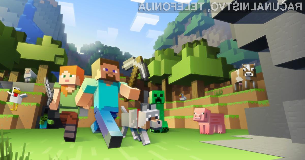Zaradi igre Minecraft ste lahko ob vse vaše podatke!