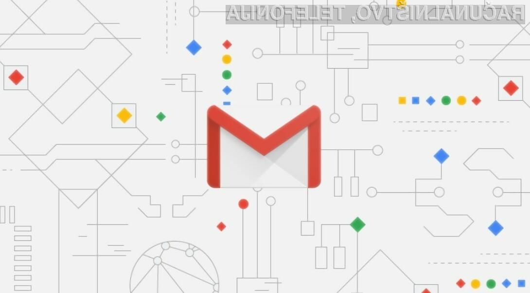 Novi Gmail se vam bo zagotovo takoj prikupil.
