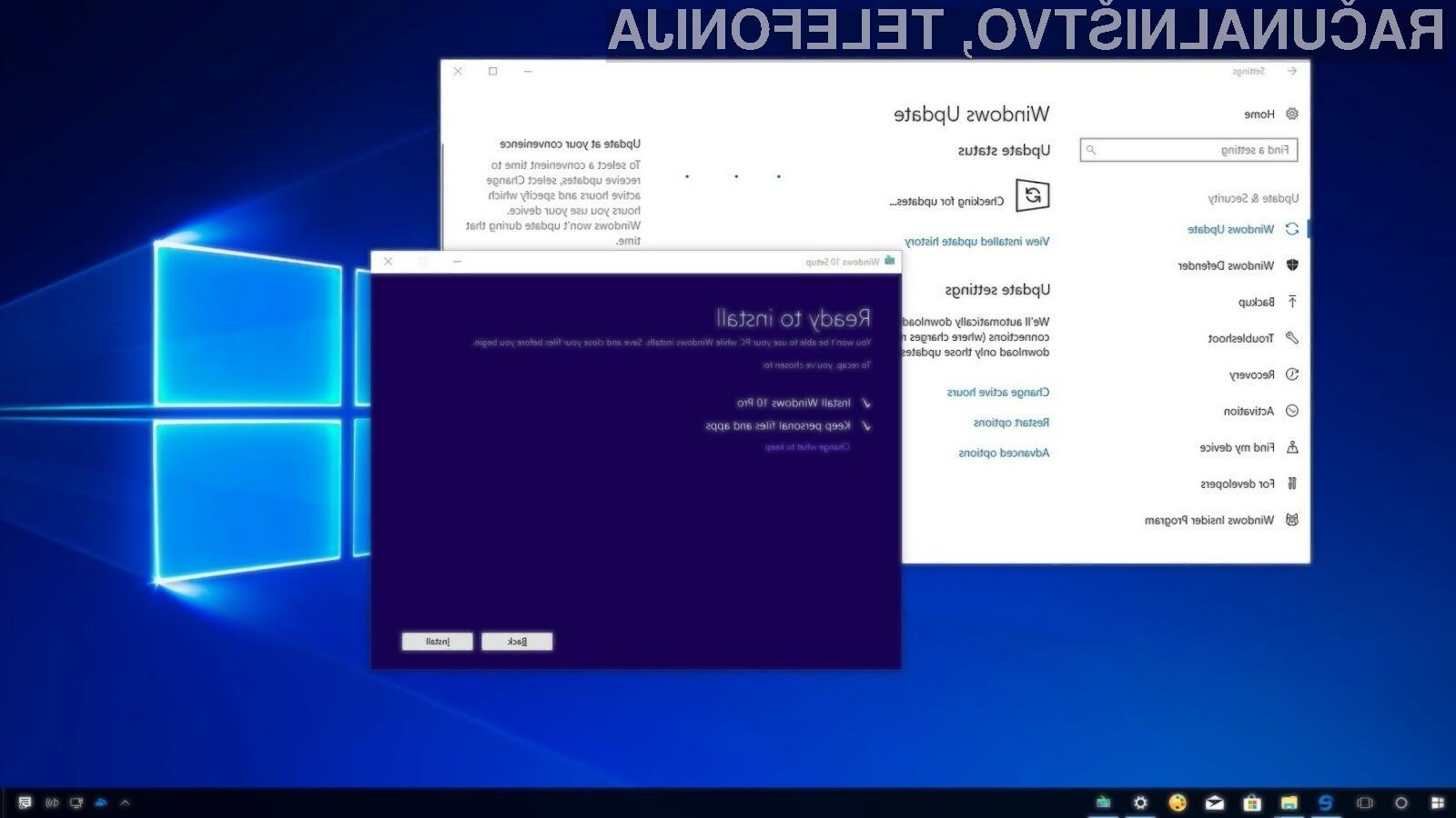 Operacijski sistem Windows 10 naj bi bil že leta 2020 nameščen na kar milijardi aktivnih naprav.