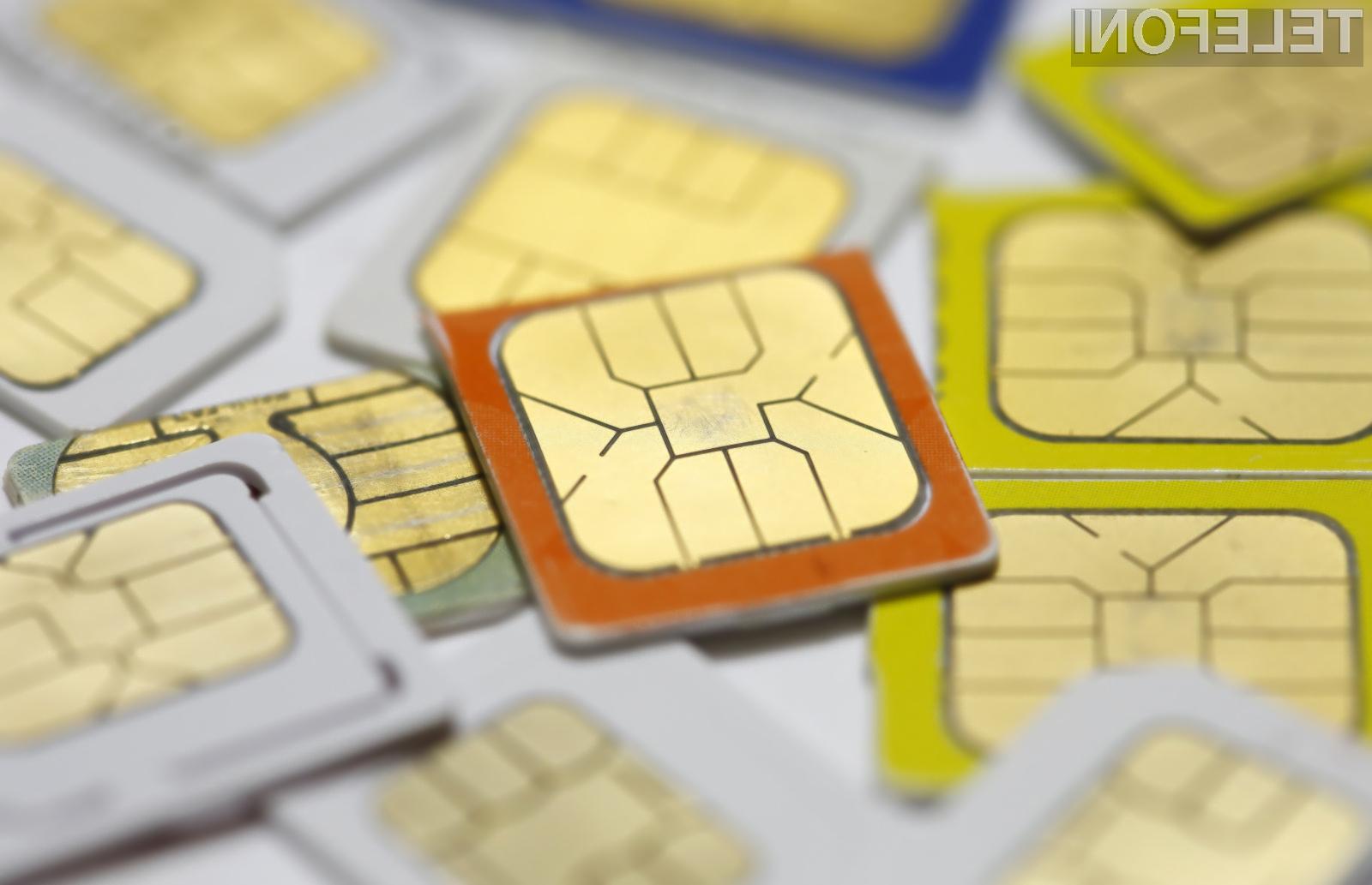 Trenutno še ni znano, kdaj se bo nadaljeval razvoj elektronske telefonske kartice SIM.
