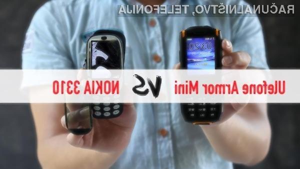 Telefon Ulefone Armor Mini prekaša novo Nokio 3310 v vseh pogledih!