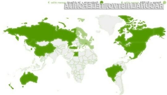 A1 z prenosom podatkom tudi v tujini