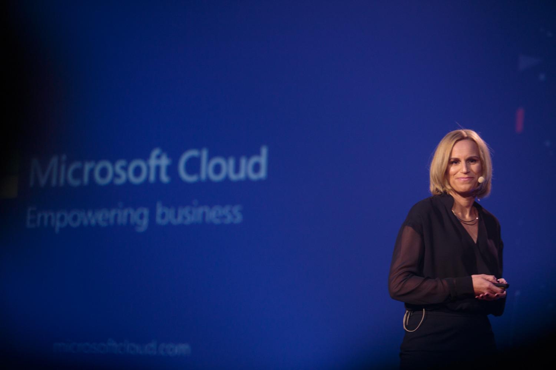 Barbara Domicelj, generalna direktorica, Microsoft Slovenija