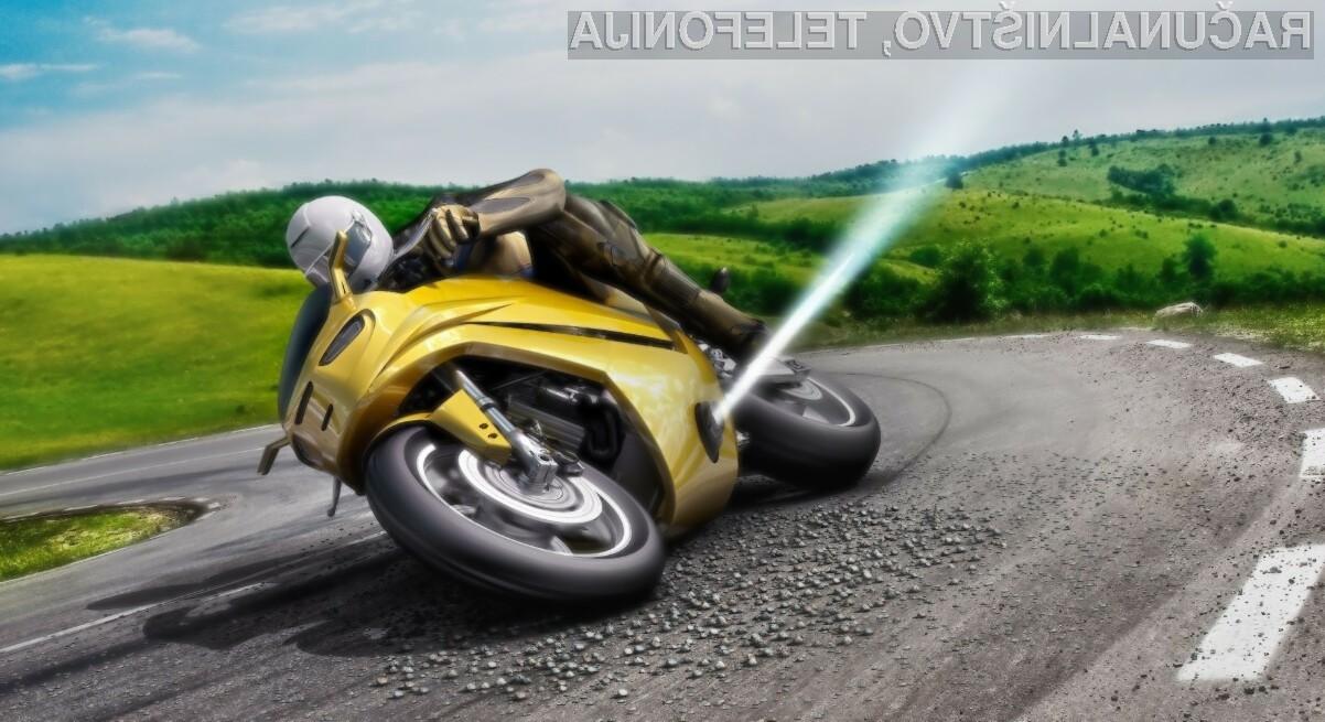 Novi izum podjetja Bosch bi lahko rešil marsikatero življenje voznikov motornih koles.
