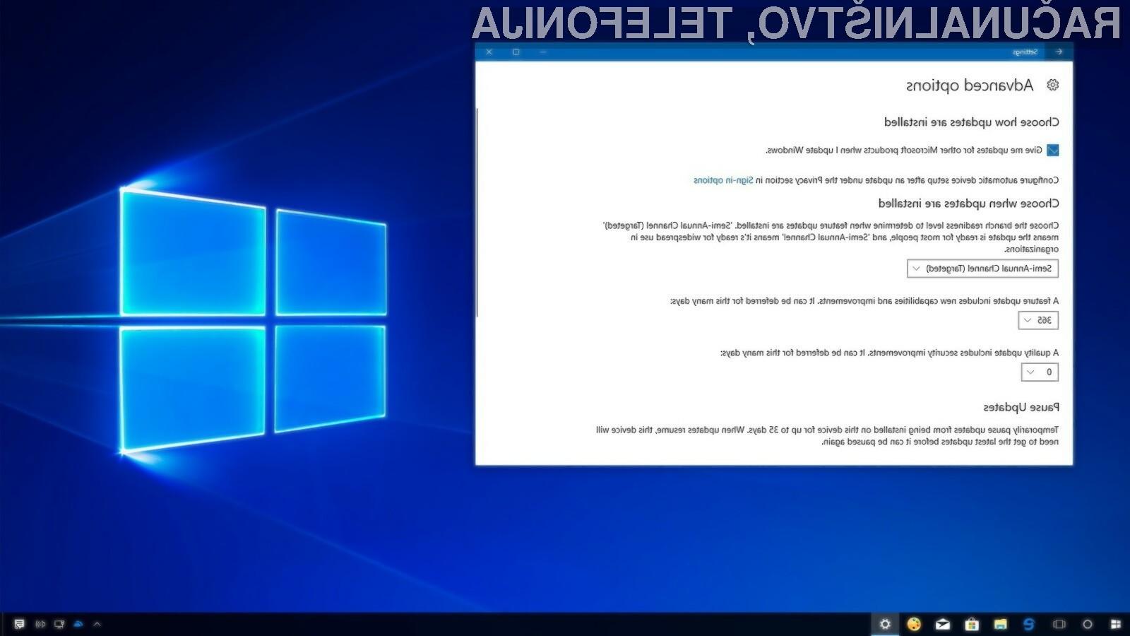 Z namestitvijo posodobitve April 2018 Update za operacijski sistem Windows 10 boste nekaj pridobili a tudi nekaj izgubili.