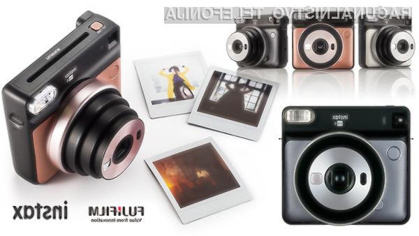 Fujifilm Instax Square SQ6 bo zagotovo navdušil tudi mlade!