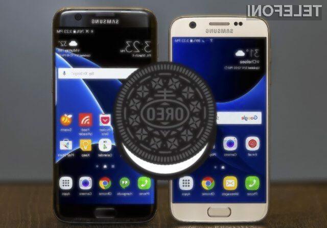 Samsung naj bi novo posodobitev Android 8.0 Oreo za telefona Galaxy S7 in S7 Edge pripravil kmalu.