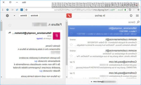 Gmail lahko sedaj uporabljamo tudi brez dostopa do svetovnega spleta!