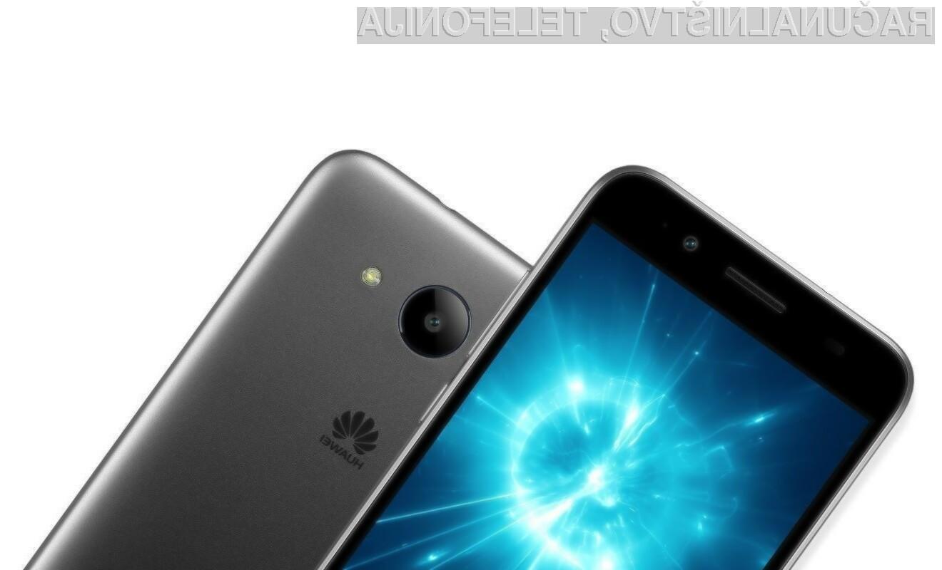 Pametni mobilni telefon Huawei Y3 2018 nas bo zlahka prevzel!