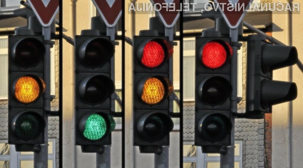 Pametni semaforji naj bi pripomogli k bolj tekočemu prometu.