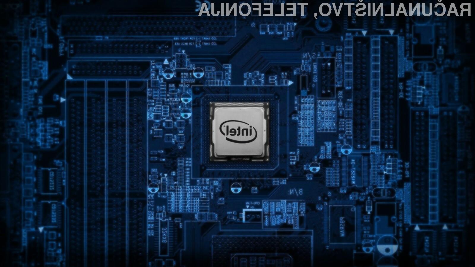 Novi Intelov procesor Core M3-8114Y bo za hlajenje potreboval zgolj hladilni blok iz aluminija