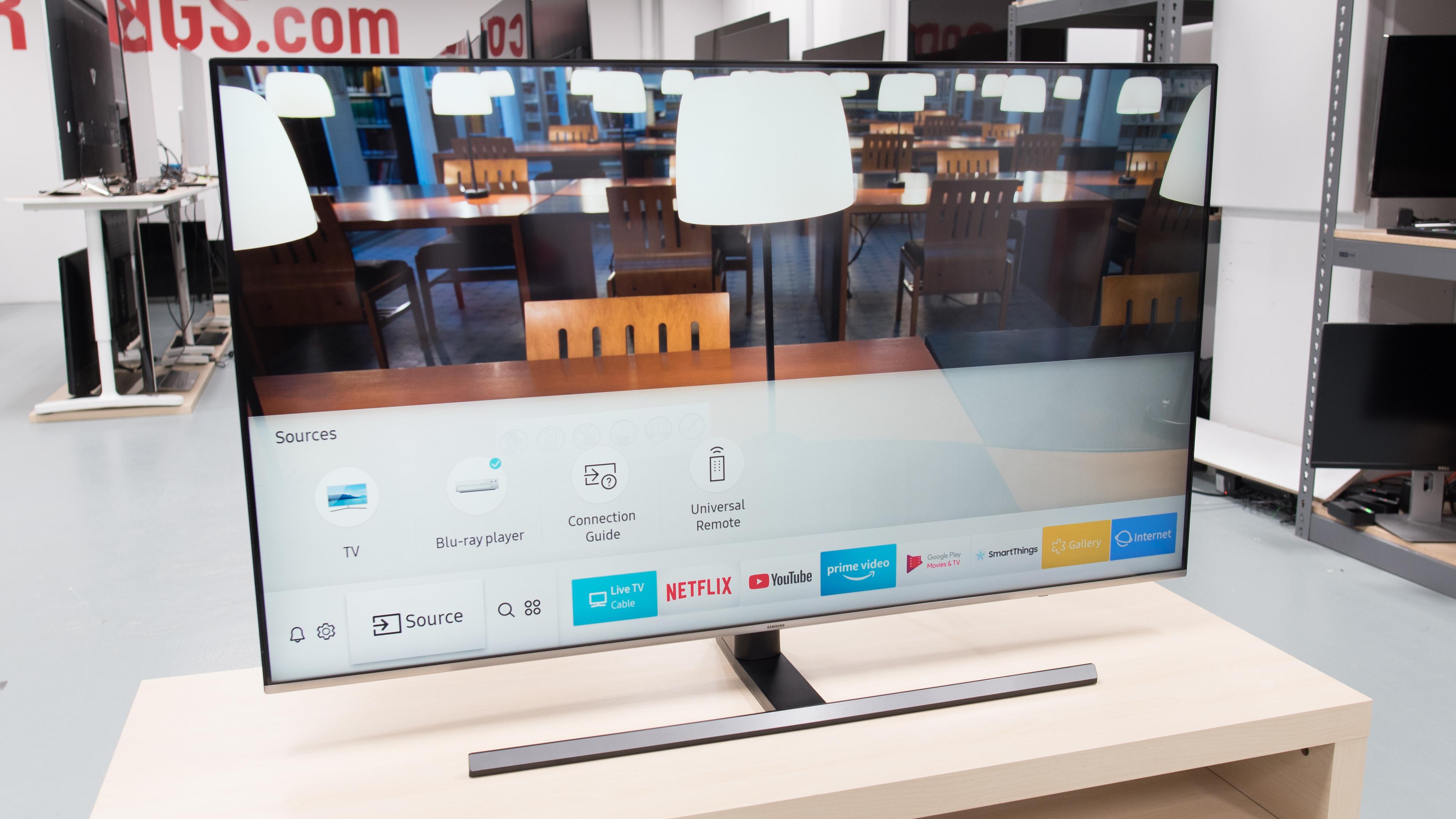 Novejši televizorji podjetja Samsung bodo s posodobitvijo stroje kode postali odlično orodje za igranje računalniških iger!
