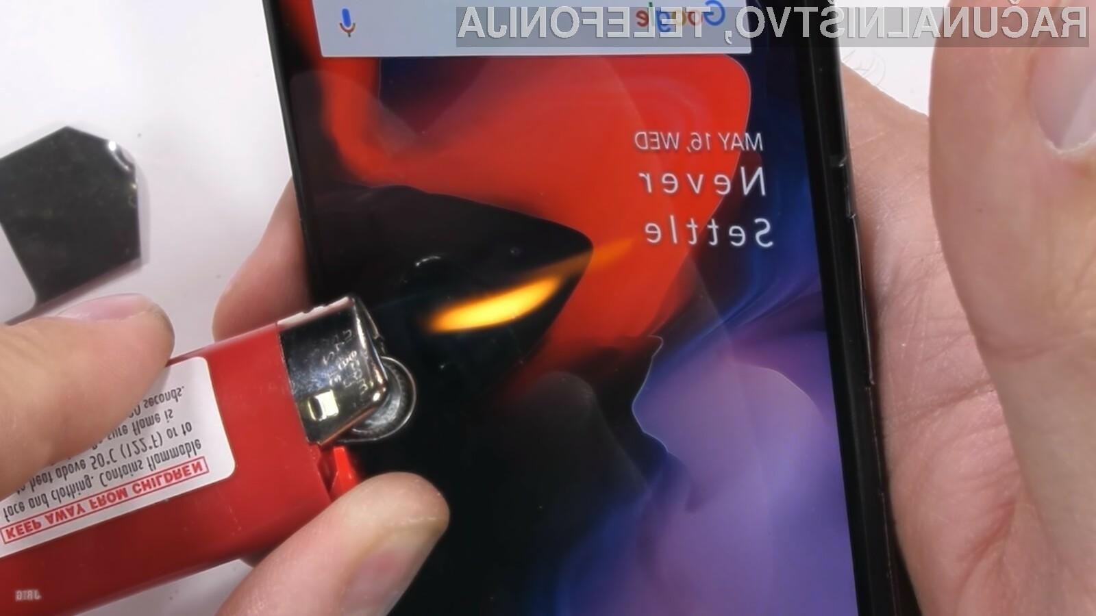 Kako se je OnePlus 6 obnesel na brutalnem preskusu odpornosti?