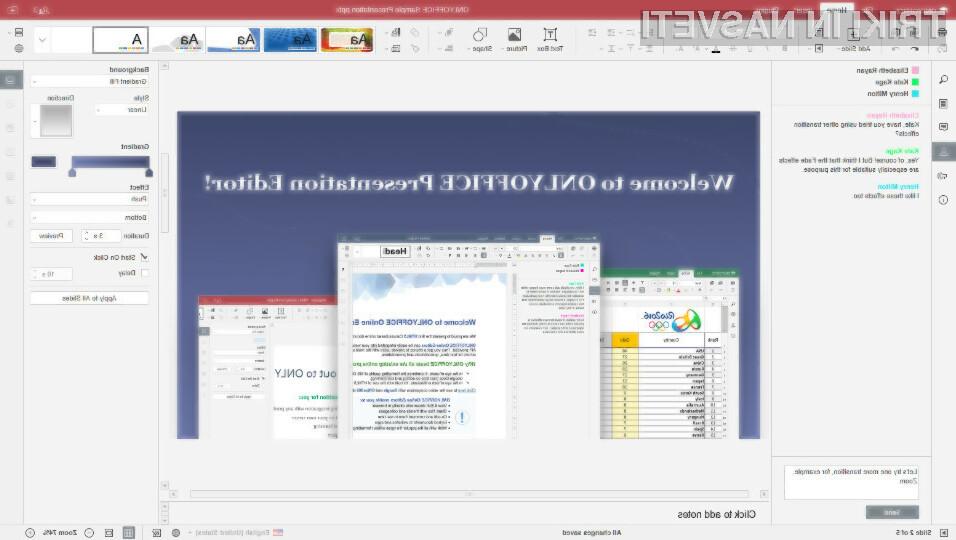 OnlyOffice je nedvomno eden najboljših urejevalnikov dokumentov za poslovne uporabnike!