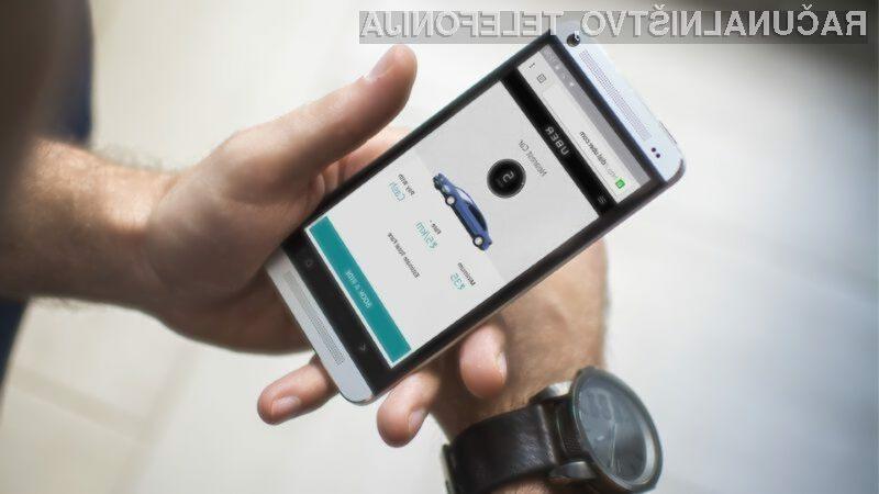 Vozniki Uber naj bi kmalu vedeli, ali so naročnik vinjeni.