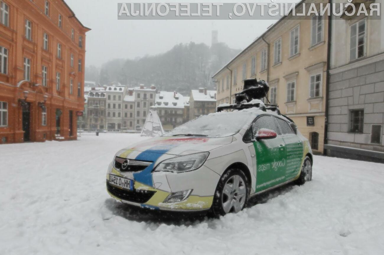 Googlovi avtomobili znova prihajajo v Slovenijo