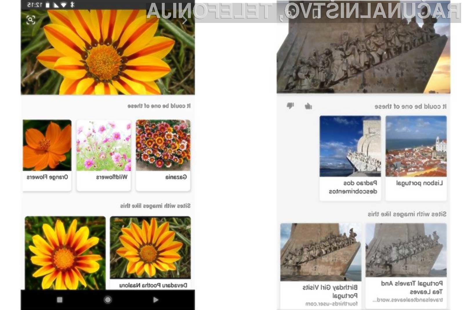 Novi Bing lahko po spletu išče tudi zgolj s pomočjo zajetih fotografij!