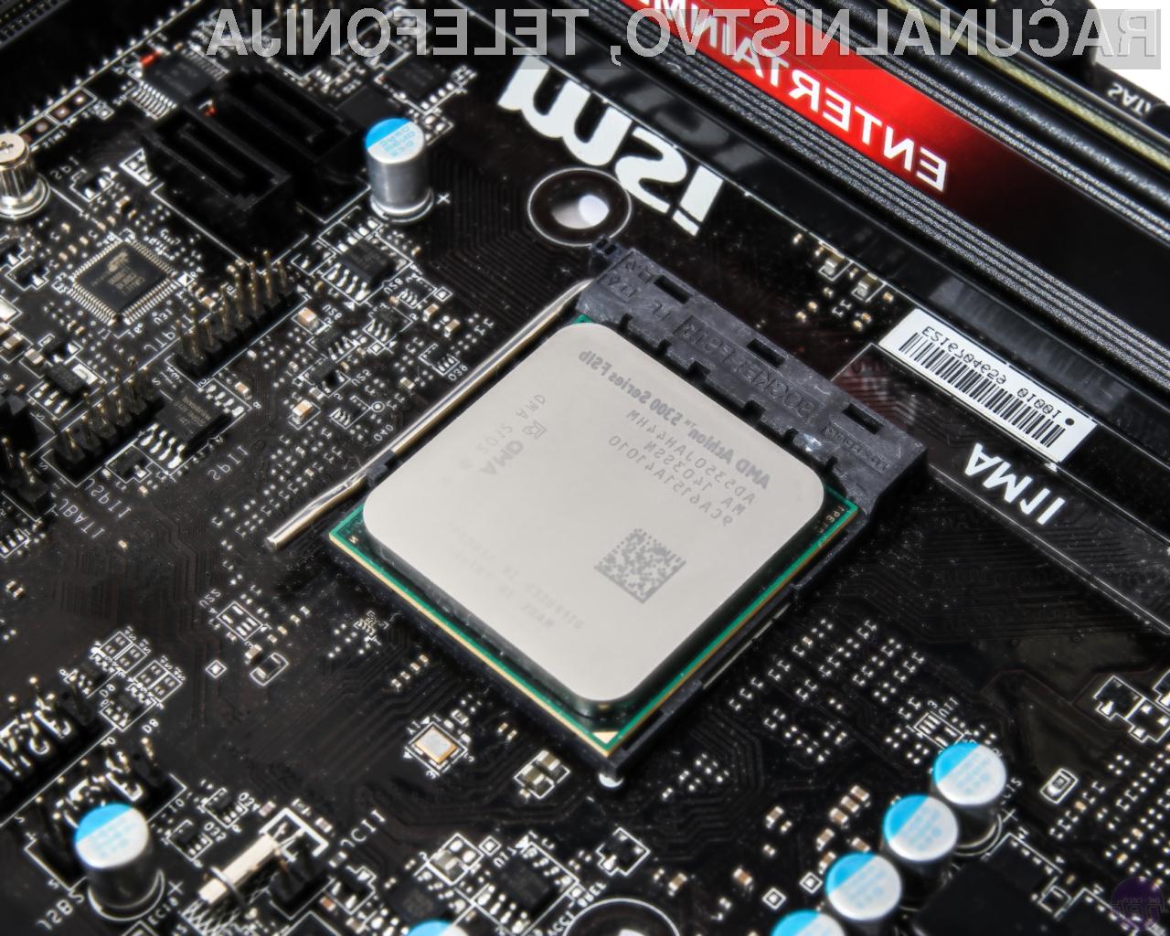 Novi procesorji AMD Athlon Zen bodo namenjeni predvsem cenovno ugodnim napravam.