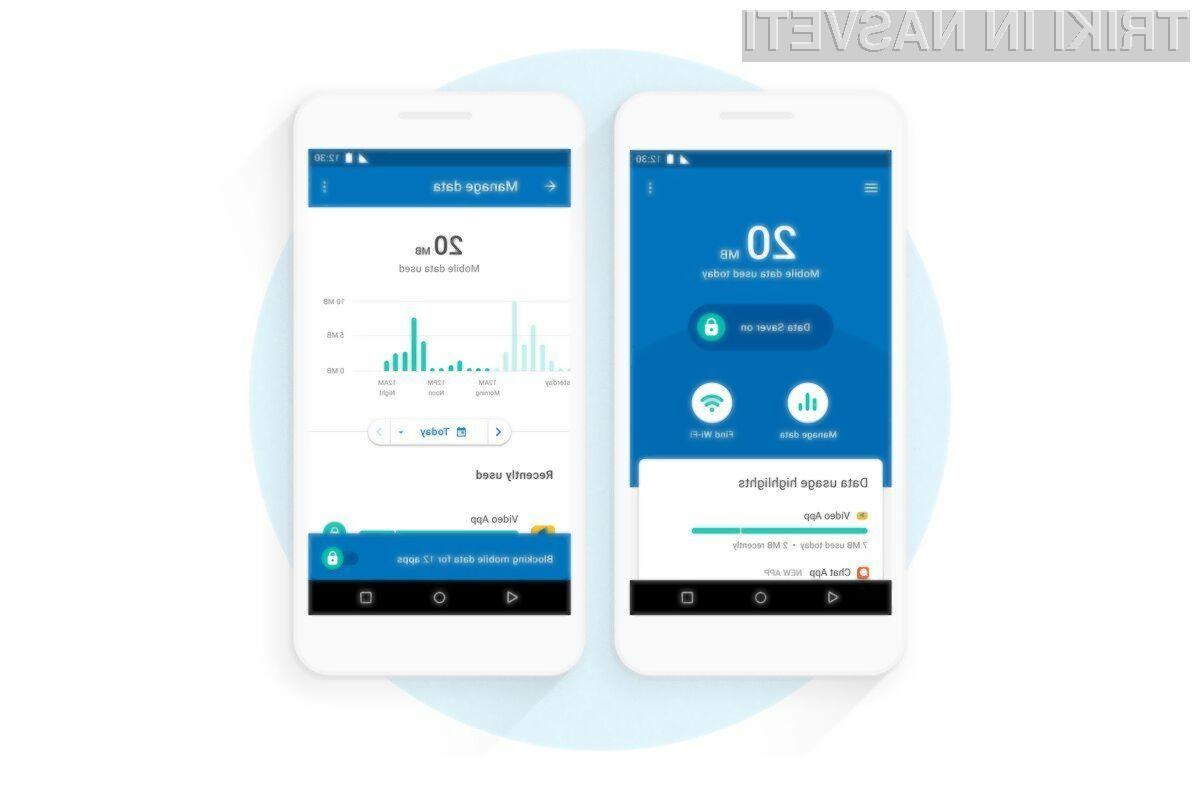 Google Datally vam bo zagotovo v veliko pomoč pri omejevanju porabe mobilnega interneta.