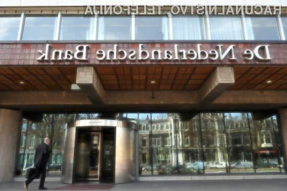 Tehnologija veriženja blokov ni prepričala nizozemsko centralno banko.