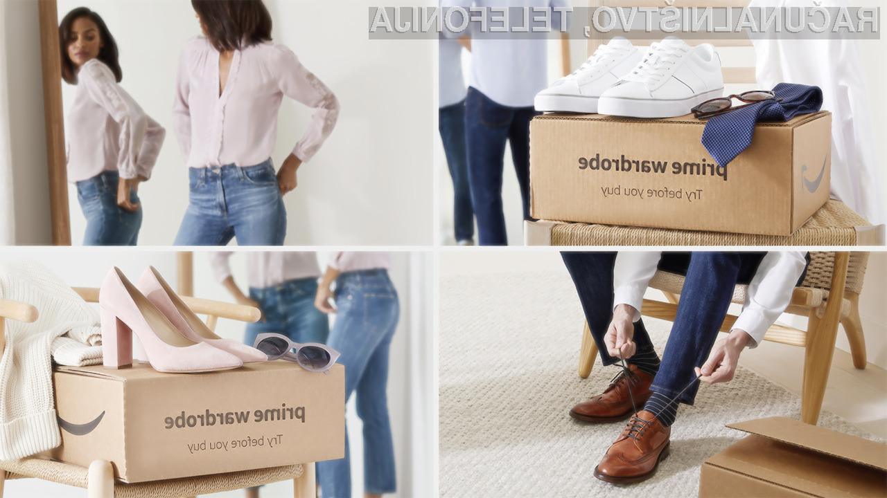 V okviru storitve Amazon Prime Wardrobe lahko kupec naroči tudi izdelke priznanih blagovnih znamk.