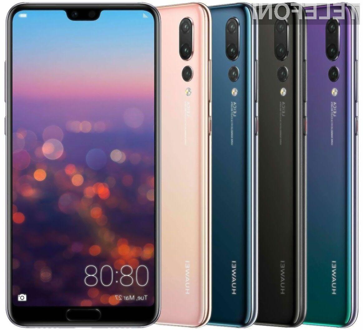 Huawei P20 gre v prodajo kor za stavo!