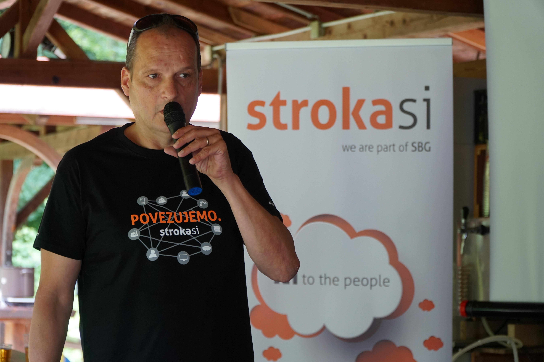 Sandi Markon, izvršni direktor in lastnik Skupine stroka.si