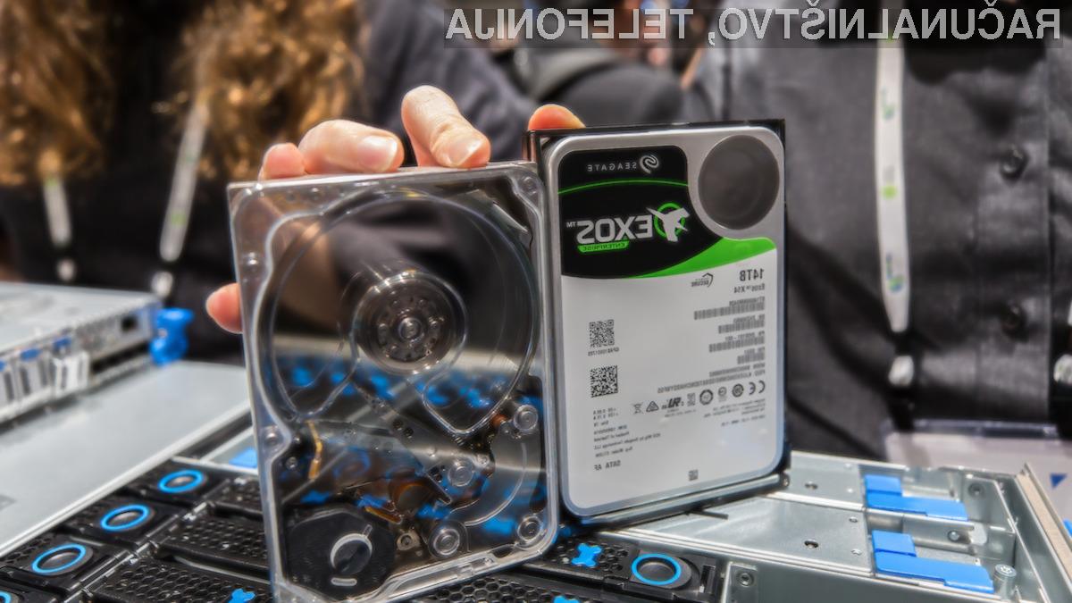 Podjetja bodo zagotovo navdušena nad trdim diskom, ki lahko shrani kar 14 terabajtov podatkov.