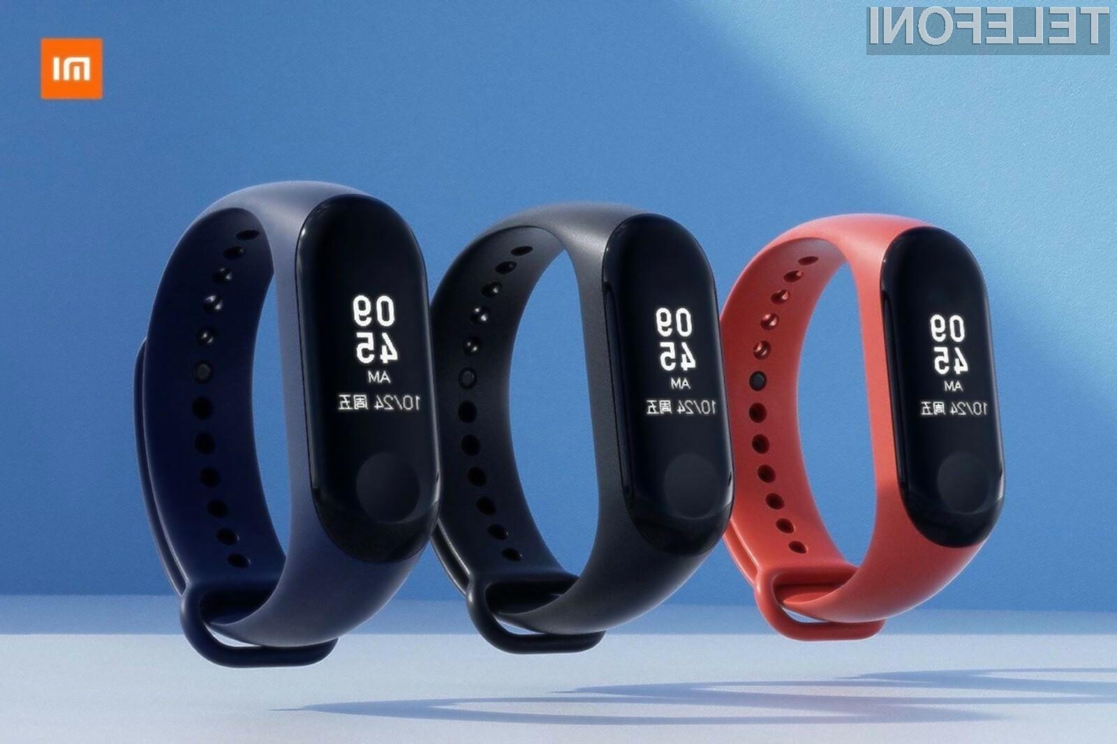 Pametna zapestnica Mi Band 3 podjetja Xiaomi je lahko vaša že za 33,32 evrov!