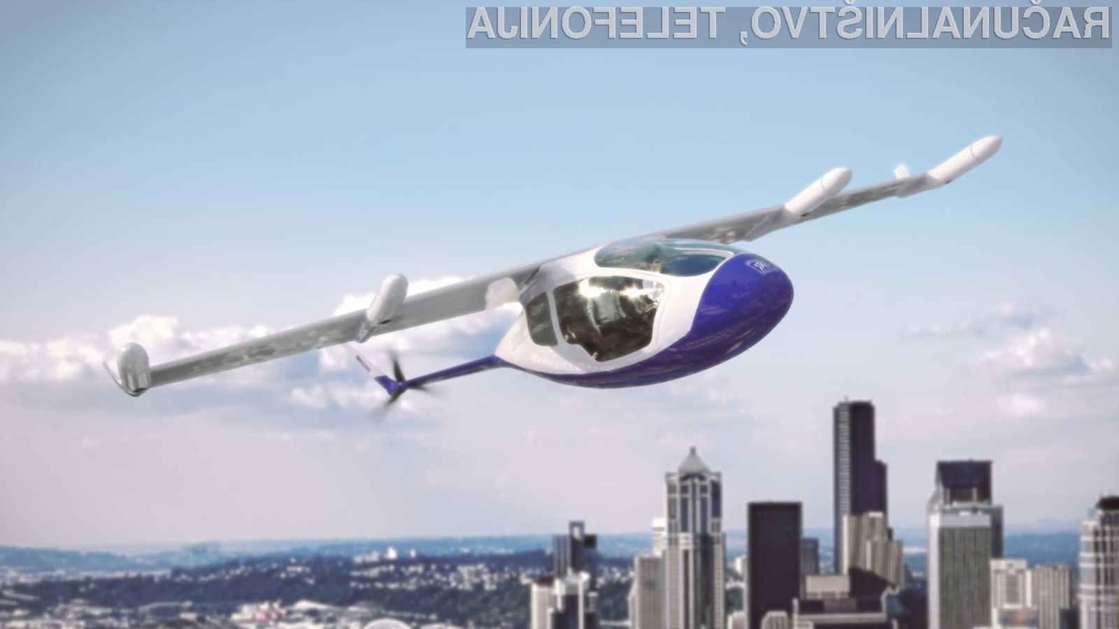V letu 2020 naj bi že lahko uporabljali leteče taksije za prevoz med večjimi mesti!