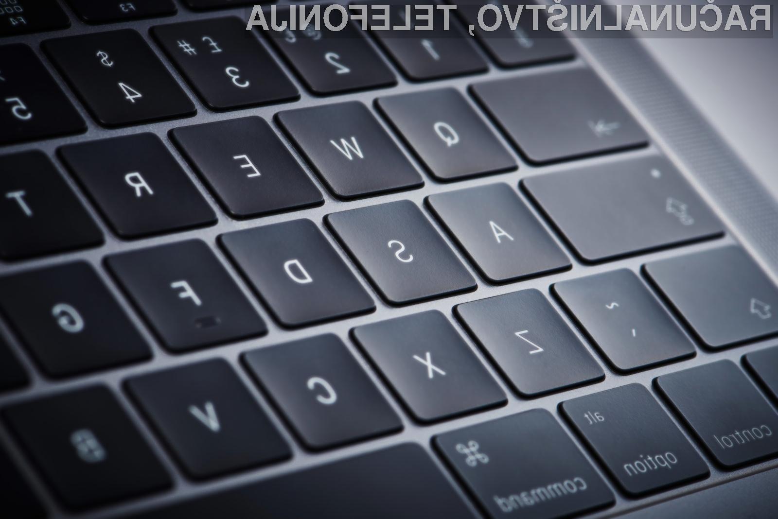 Preverite, kako se je na preizkusu obnesla nova tipkovnica prenosnika Apple MacBook Pro!