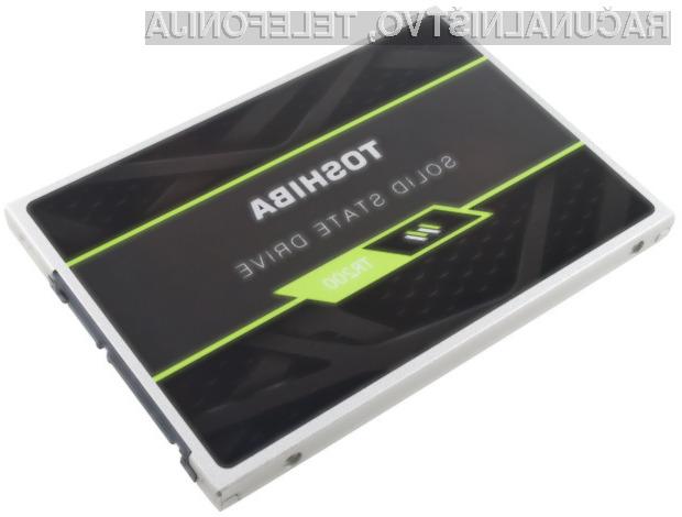 Kapaciteta pogonov Solid State bi se lahko s pomočjo novih čipov podjetja Toshiba povečala za do 500 odstotkov.