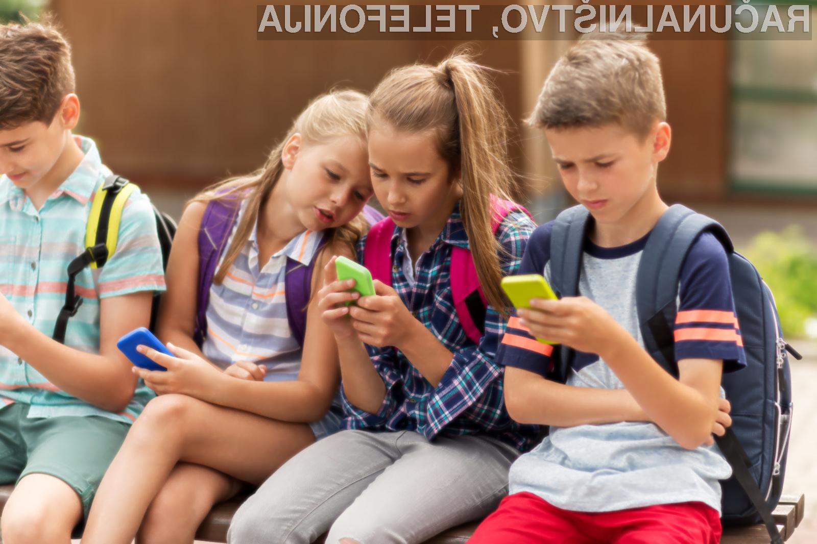 Mlajši od 13 let ne smejo uporabljati Facebooka ali Instagrama.