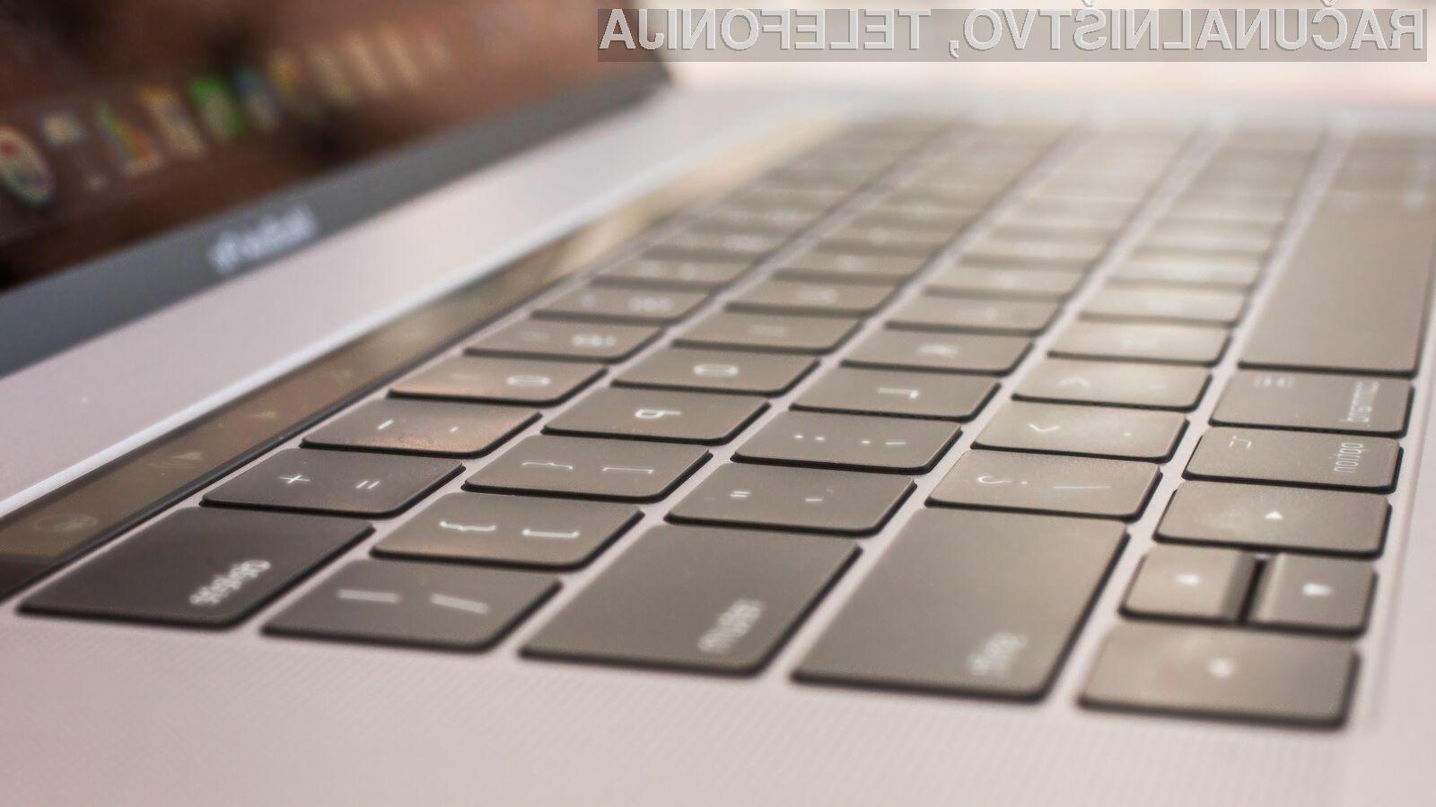 Novim prenosnikom Apple MacBook Pro zagotovo ne bo zmanjkalo moči!