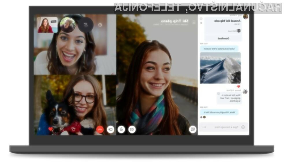 Skype Classic bo s 1. septembrom letos prenehal delovati.