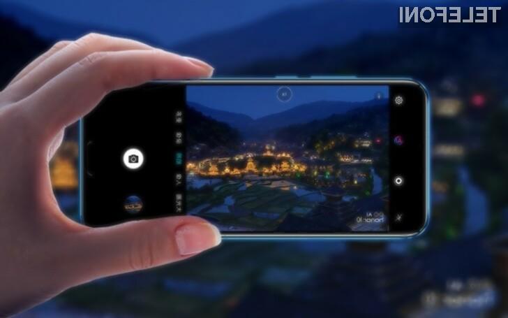 Pametni mobilni telefon Honor 10 GT bo namenjen najzahtevnejšim!