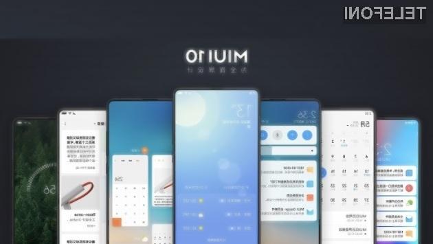 Novi grafični vmesnik MIUI 10 bodo vse podprte mobilne naprave Xiaomi prejele v naslednjih nekaj tednih.