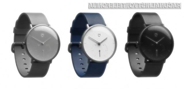 Pametna ročna ura Xiaomi Mijia Quartz Watch je primerna tak za družbene dogodke kot za šport!