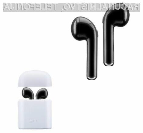 Kompaktno slušalko I7S praktično ne bomo čutili v ušesu.