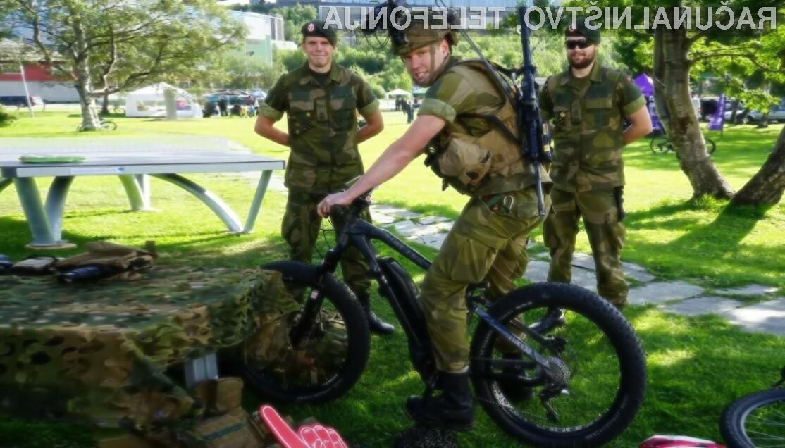 Norveška vojska preizkuša patruljna električna kolesa!