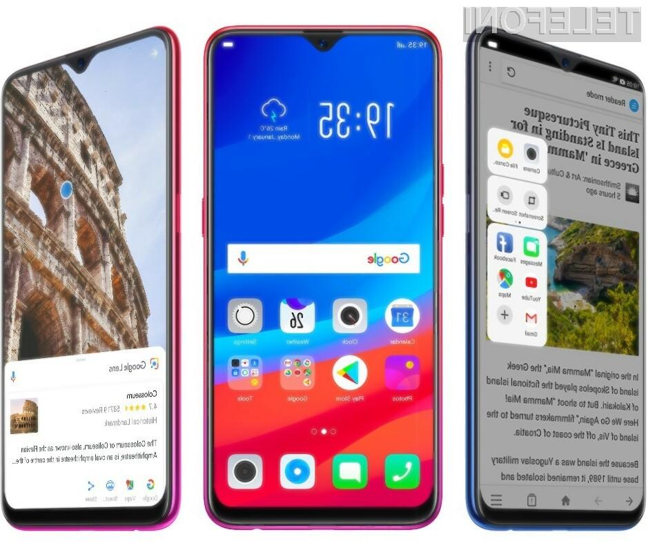 Podjetje OPPO je s telefonom F9 ponovno prehitelo vse vodilne proizvajalce pametnih mobilnih telefonov!