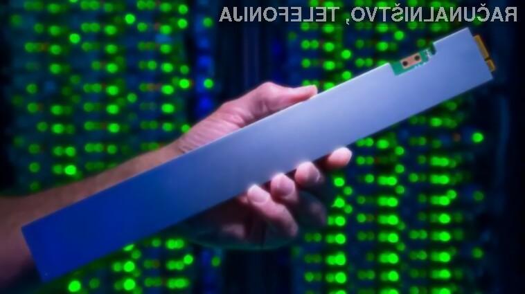 Prostorni pogon Solid State DC P4500 podjetja Intel bo namenjen strežniškim sistemom.