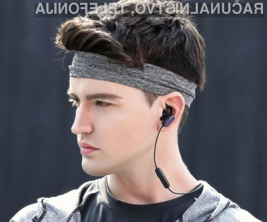 Brezžične slušalke Xiaomi so kot nalašč za ljubitelje športa.
