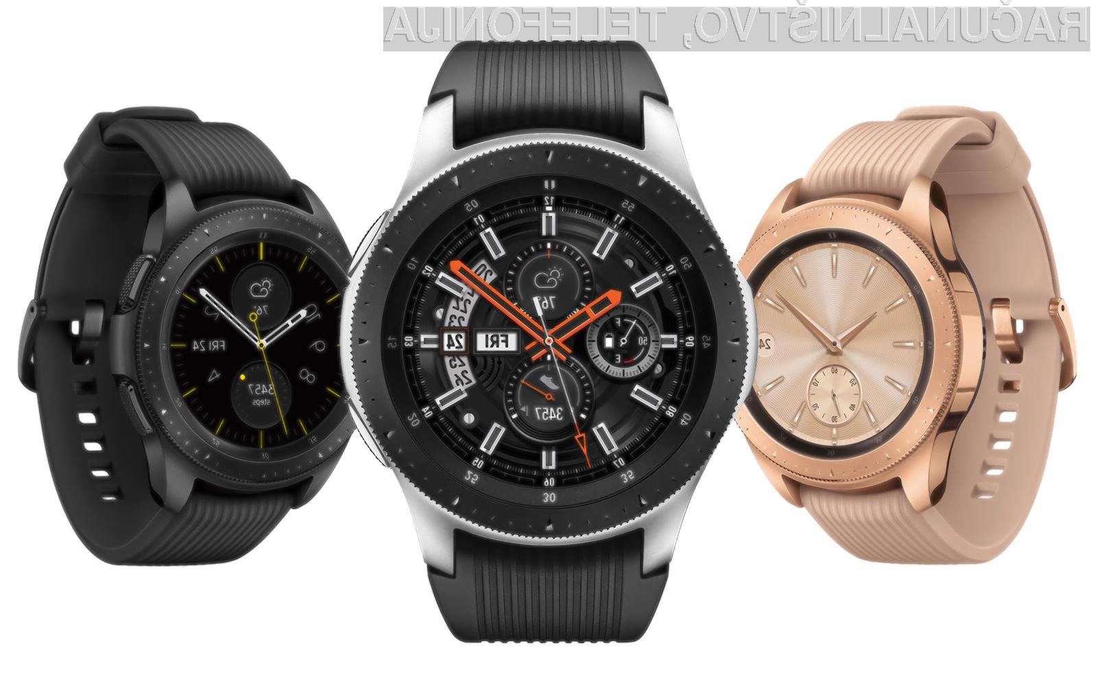 Samsung je s pametno ročno uro Galaxy Watch nedvomno zadel v polno!