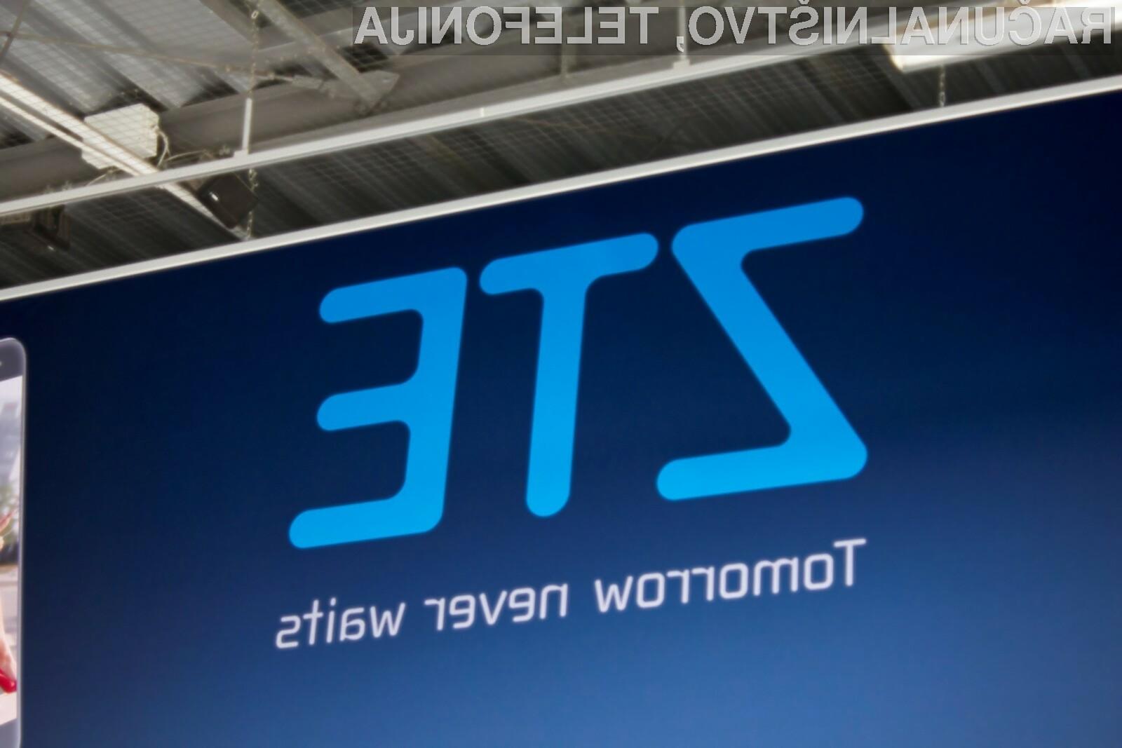 Podjetje ZTE bo verjetno prvo, ki bo ponudilo v prodajo pametni mobilni telefon s podporo mobilnemu omrežju 5G!