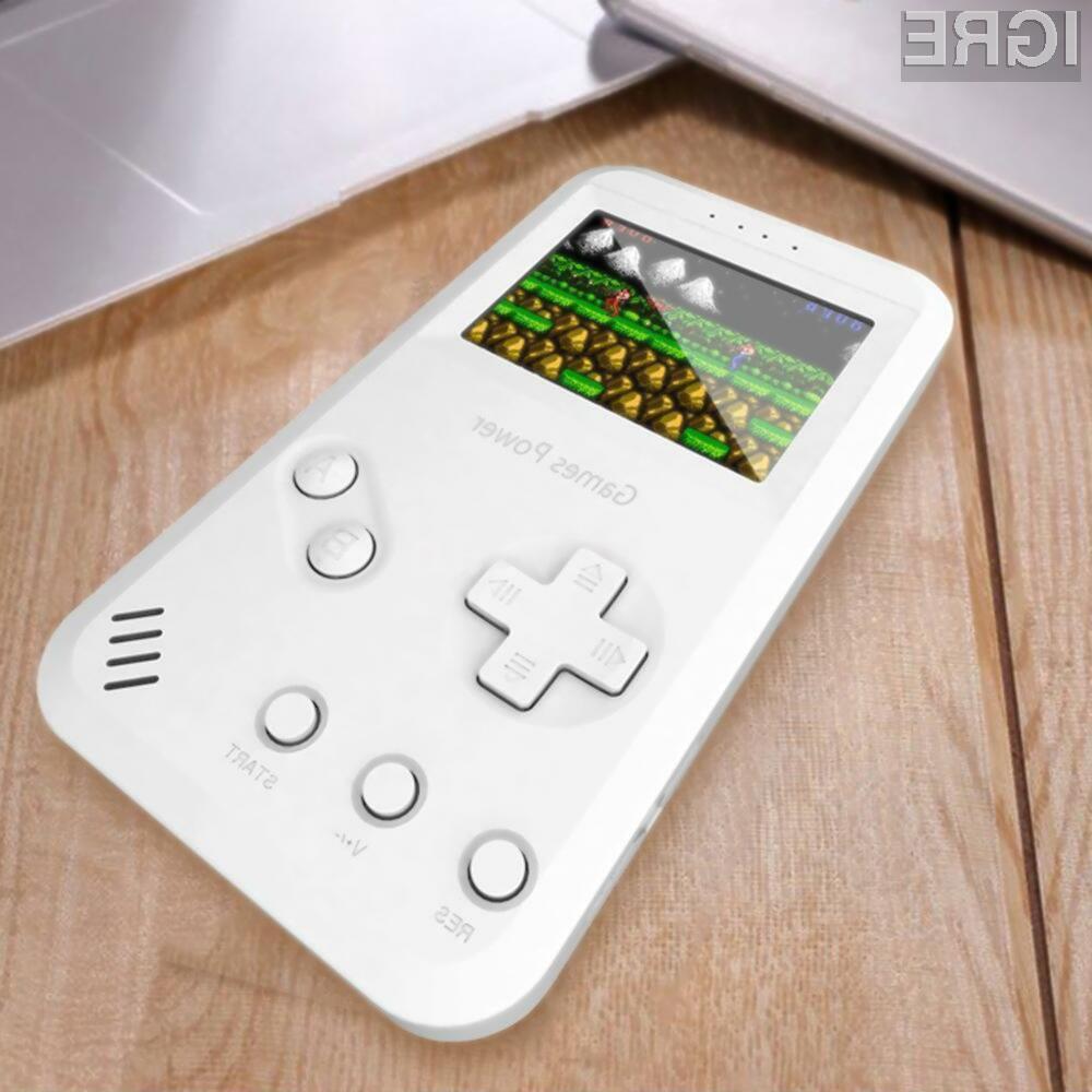 Prenosna igralna konzola z 99 retro igrami je lahko vaša že za 24,99 evrov.