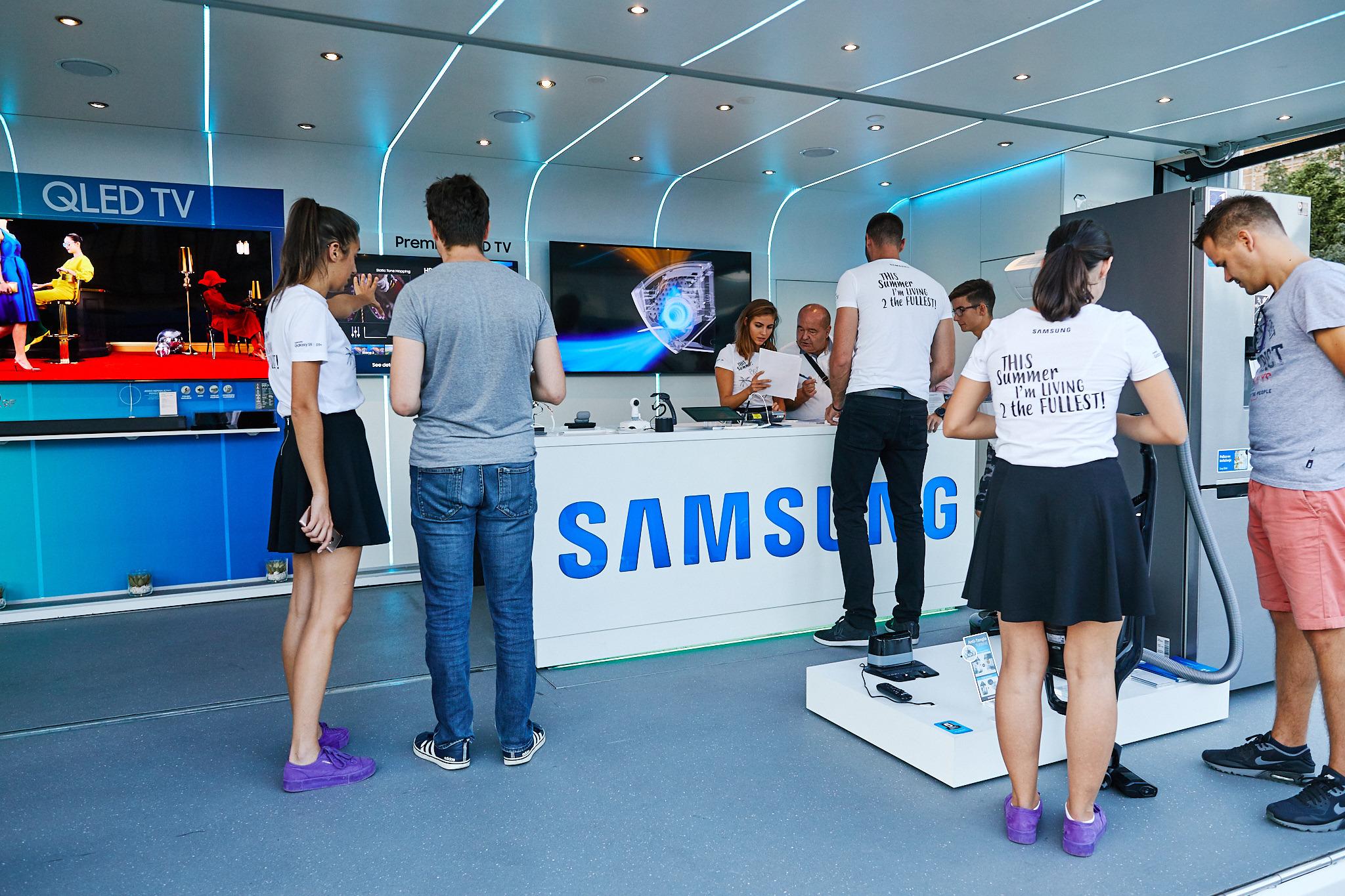 Samsung Electronic Adriatic Roadshow 2018