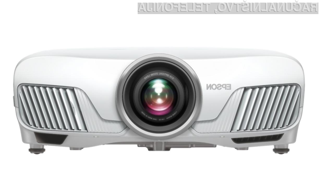 Projektor Epson Home Cinema 4010 za relativno malo denarja ponuja veliko!