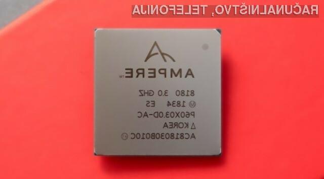 Podjetje Ampere Computing je pripravilo prvi komercialni strežniški procesor, ki temelji na procesorski zgradbi ARM.