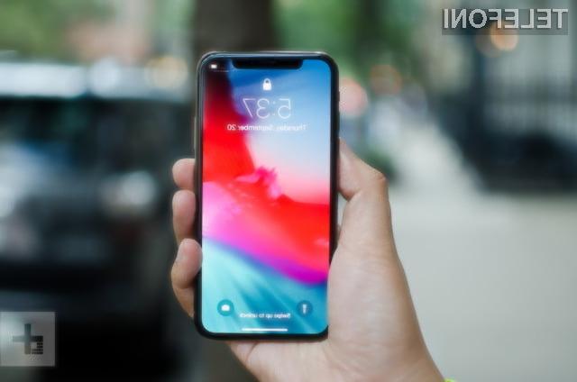 Notranja razporeditev komponent telefona iPhone Xs je v primerjavi s prejšnjimi modeli ostala praktično nespremenjena.